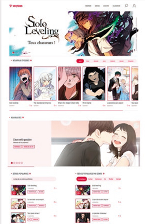 verytoon-homepage