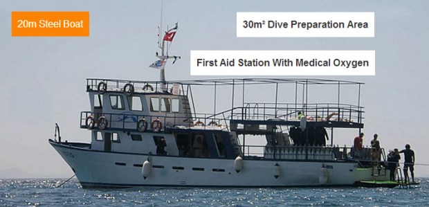 Aegean Pro Dive Boat Bodrum