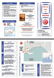 Akyarlar Quick Reference Travel Guide Bodrum Turkey