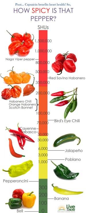 Chili Heat Chart