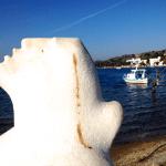 Gümüşlük Bodrum Turkey Marble Statue