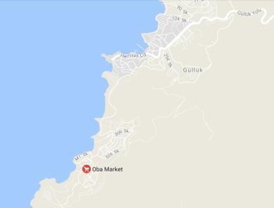 Oba area of Gulluk