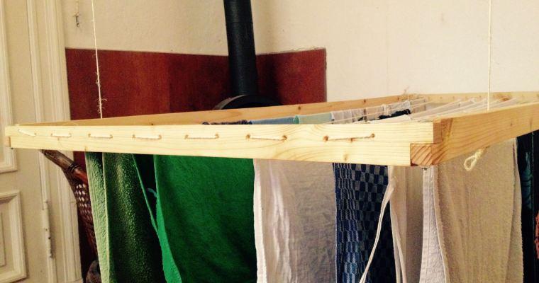 DIY – Einen hängenden Wäscheständer bauen