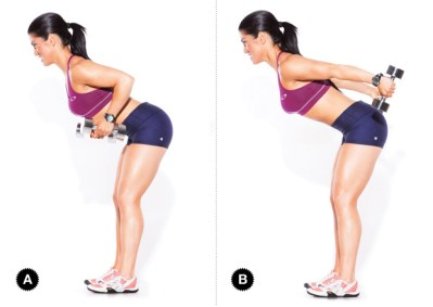 Image result for Bent Over Double Arm Tricep Kickbacks