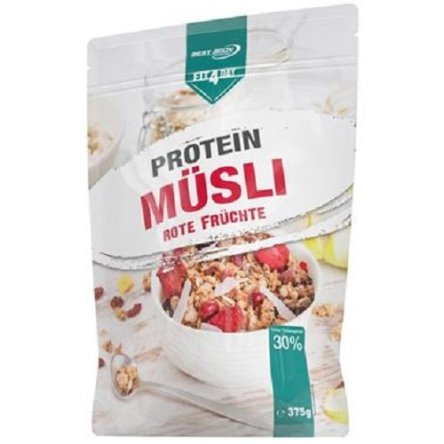 Protein Muesli 375gr Red Fruits
