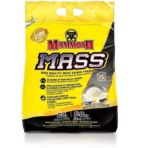 Mammoth Mass (Mammoth 2500) 6800gr Vanille