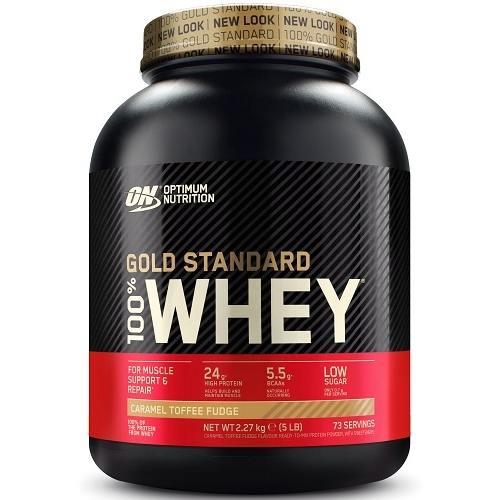 100% Whey Gold Standard 2270gr Caramel