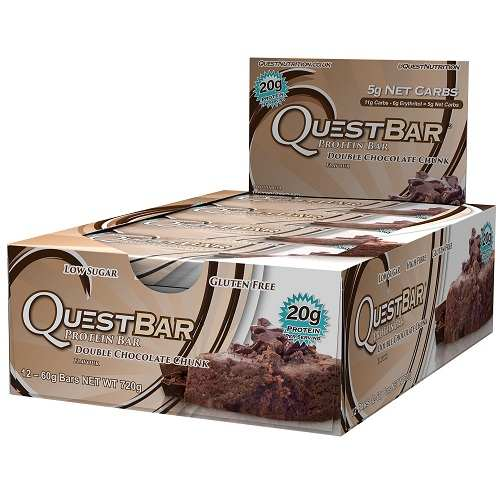 Quest Protein Bars 12repen Double Chocolate Chunk