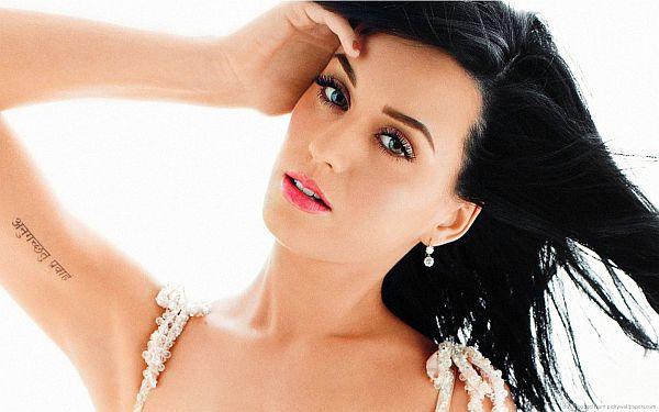 Katy Perry iner bicep tattoo