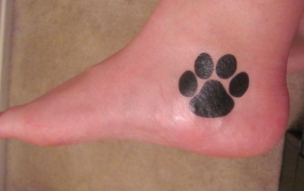 Cat paw tattoos 1