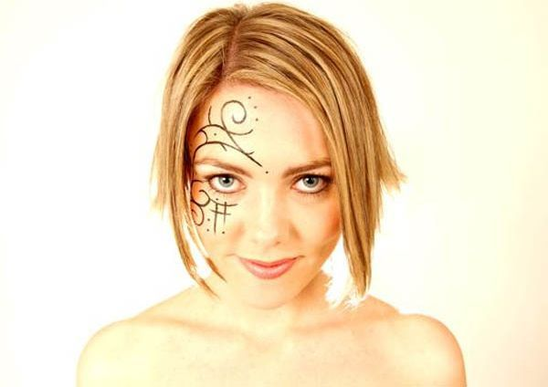 facial tattoo (2)