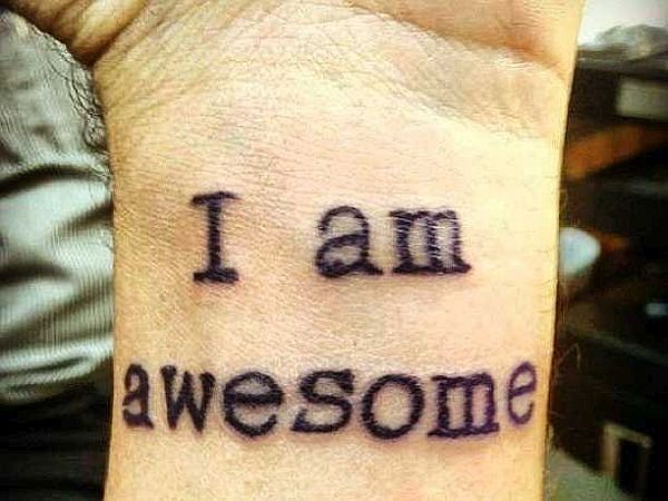 I am awesome