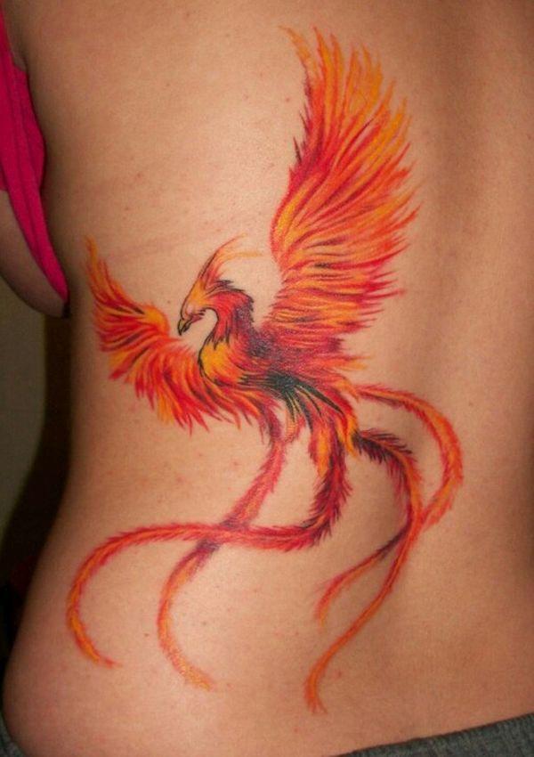 Phoenix tattoo 1