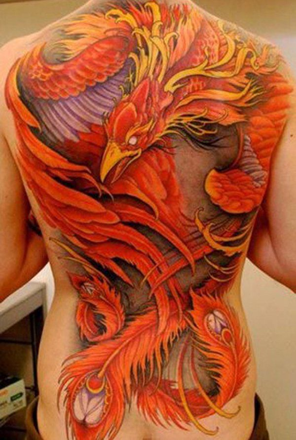 Phoenix tattoo 3