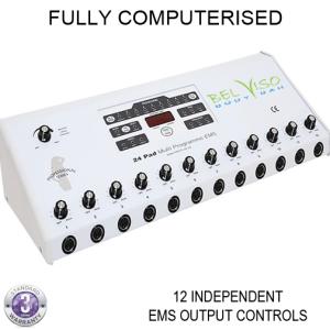 24-pad EMS Electro Muscle Stimulator