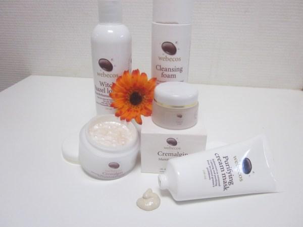 Verzorgingspakket voor de vette gevoelige huid