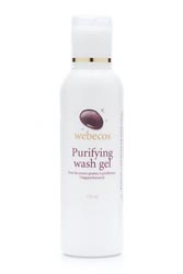 Purifying washgel