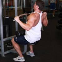 Wide-Grip Lat Pulldown
