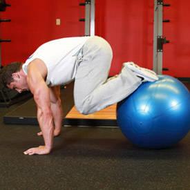 Bola del ejercicio Pull-A