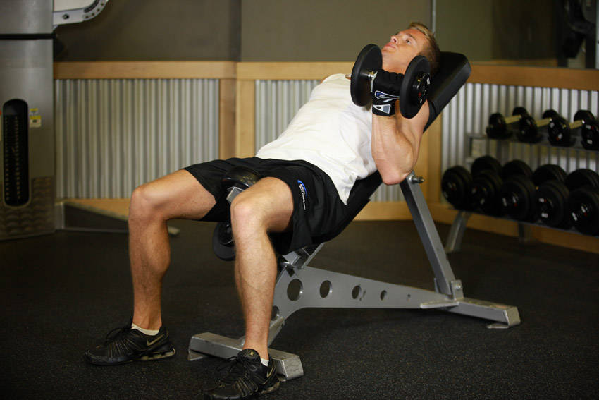 Alternate Incline Dumbbell Curl Exercise Guide And Video