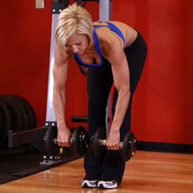 Bent Over Two-Dumbbell Row