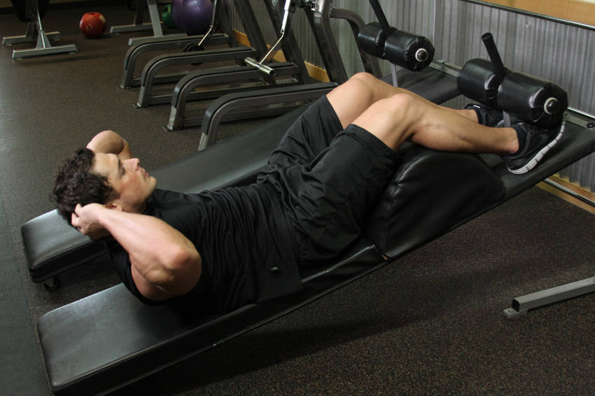 Decline Crunch Exercise Guide And Video