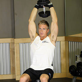 seated-tricep-press-instruction-step 2
