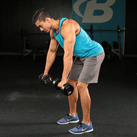 Image result for Crouched Rear Deltoid Row