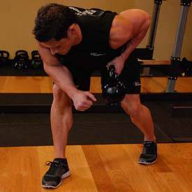 One-Arm Kettlebell Row