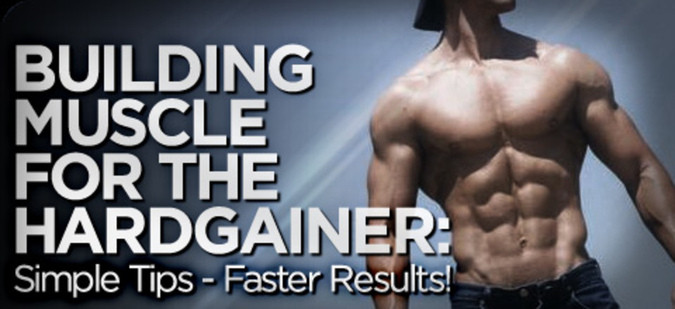 Building Muscle For The Hardgainer Simple Tips Faste