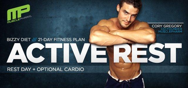 The Bizzy Diet 21-Day Fitness Plan: Rest Days