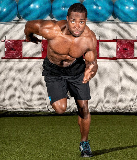 While intrinsic power and strength can get you far (and fast), you need to work on the technical aspects of your sprinting form.