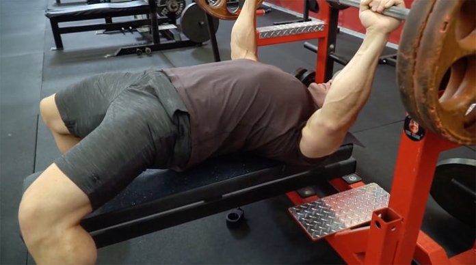 Set your hips and elbows.