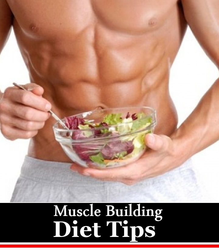 4 Muscle Building Diet Tips