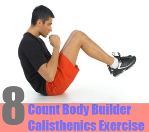 Eight Count Body Builder Calisthenics Exercise