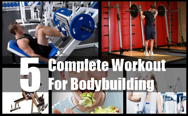 Workout For Bodybuilding