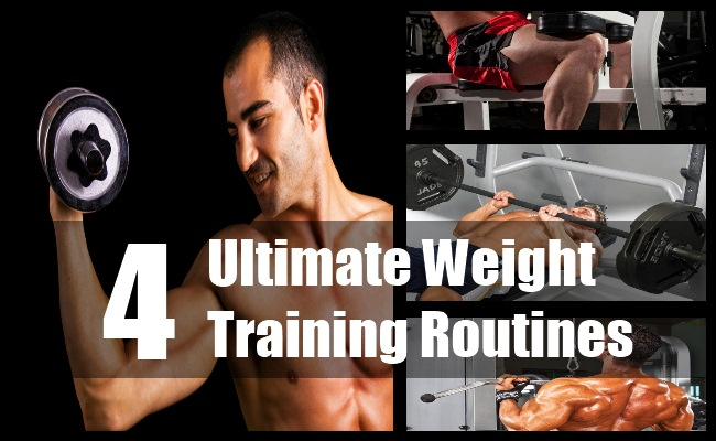 Ultimate Weight Training Routines