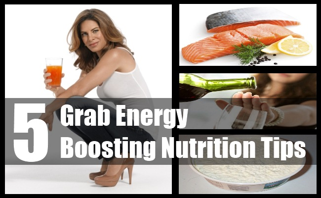 Grab Energy Boosting Nutrition Tips