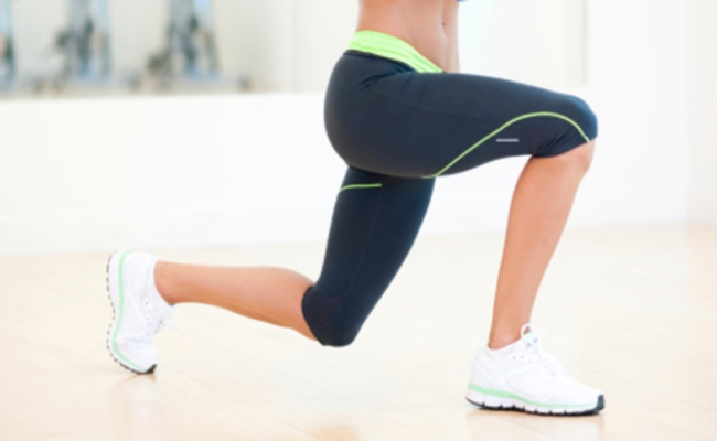 Pulsating Lunges