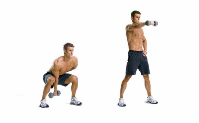 Dumbbell Swings