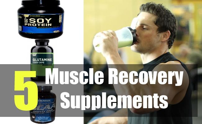 5 Muscle Recovery Supplements
