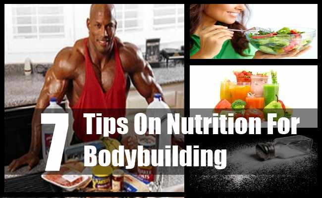 Nutrition For Bodybuilding