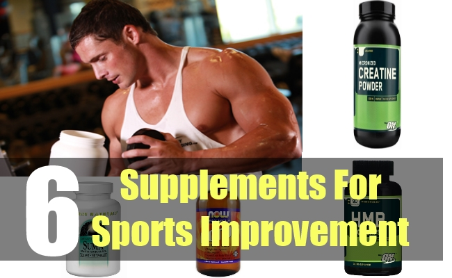 6 Supplements For Sports Improvement