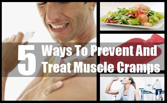 Prevent And Treat Muscle Cramps