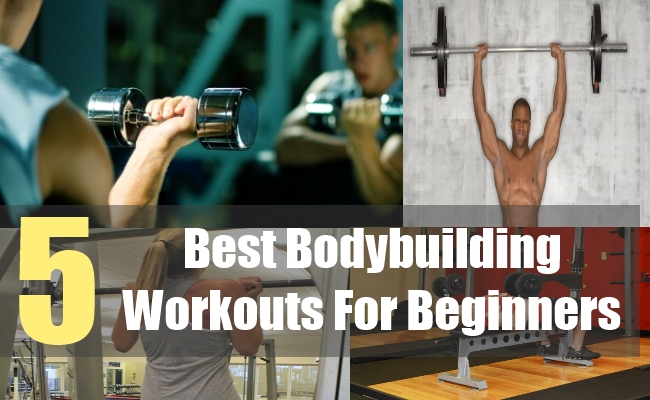 5 Best Bodybuilding Workouts For Beginners