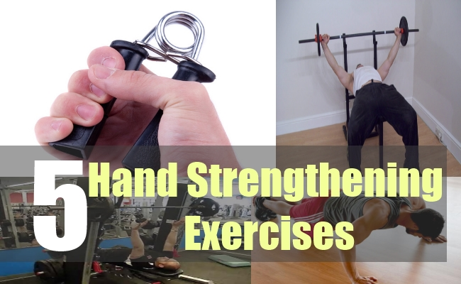 5 Hand Strengthening Exercises