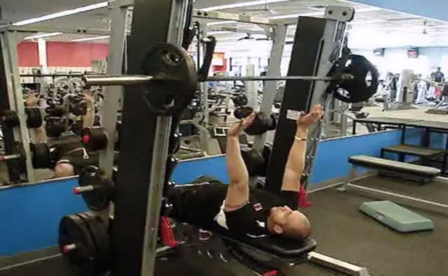 Smith Machine Throws