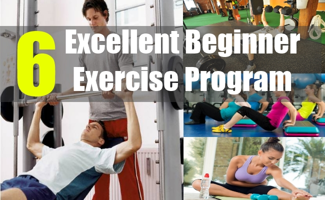 6 Excellent Beginner Exercise Program