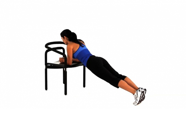 The Plank Chair Exercise