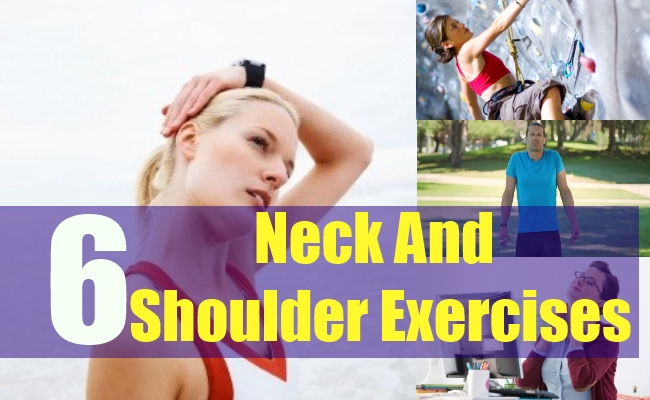 6 Neck And Shoulder Exercises